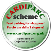 cardiparc sticker